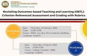 criterion referenced assessment revisiting outcomes based teaching and learning obtl criterion