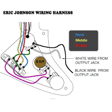 tone man guitar eric johnson style wiring harness with strat Johnson Wiring Harness Diagram eric johnsonstratocaster strat wiring kit within johnson diagram johnson outboard wiring harness diagram