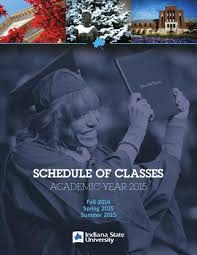 Schedule Of Classes 2014 15 By Indiana State University Issuu
