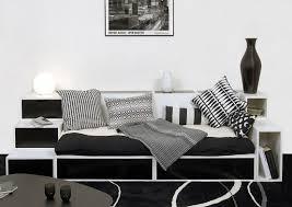 practical furniture for black and white interior design by espace loggia black white furniture