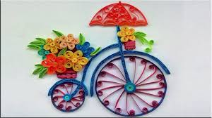 Paper Quilling Flower Bokeh Paper Quilling Flower Bouquet Same Day Flower Delivery