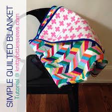 Simple Quilted Blanket {Tutorial} &  Adamdwight.com