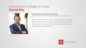 innovations in college to career farouk dey on vimeo