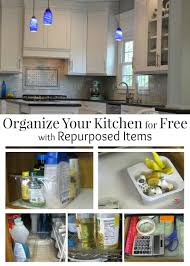 Repurposed Items Organize Your Kitchen For Free With Repurposed Items Organized 31