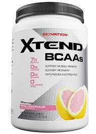 scivation xtend bcaas tary supplement pink lemonade 90 servings