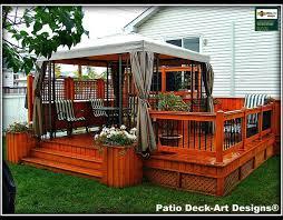 Backyard Decking Designs Model Impressive Ideas