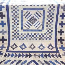 275 best Blue & White Quilts images on Pinterest | Antique quilts ... & Indigo Crossing Medallion quilt pattern at Tikki of London. Blue QuiltsWhite  ... Adamdwight.com
