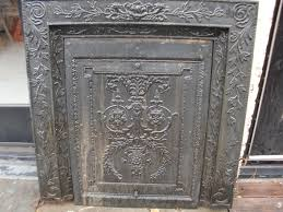 Iron Fireplace Cover
