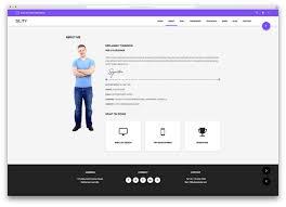 Gallery Of Web Resume Resume Website Examples Resume Websites