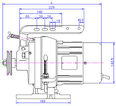 industrial sewing machine motors clutch motor clut 1 gif 10939 aring128139aumlfrac12141