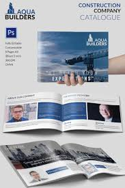 11 top construction company brochure templates premium construction company catalogue