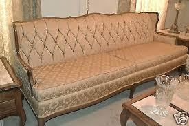 antique vine french provincial sofa