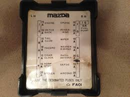 81 rx7 fuse locations brake light fuse rx7club com just realized this a really old th oh well this is the fuse cover from an 81