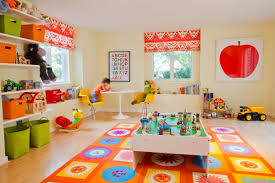 Bedroom:Cool Blue Kids Bedroom With Sky Pattern Ceiling Idea Creative  Colorful Kids Playroom Decor