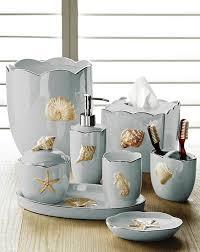 mare s porcelain bath accessories in seafoam by kassatex beach style bathroom accessories denver by kellsson home linens