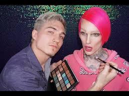 boyfriend does my makeup jeffree star
