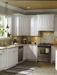 astonishing kitchens with white appliances. Great Kitchen Country White Ideas With Travertine Backsplash Appliances Astonishing Kitchens I