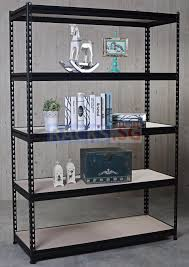 5 tier diy boltless rack with hdf board shelves
