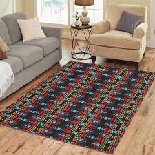 carpet 5x7. black fire and turquoise area rug7\u0027x5\u0027 carpet 5x7 5