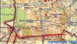 mapping divided cities and their separation walls berlin and Berlin Sites Map [13] when we compare maps from berlin before the construction of the wall and after, we see that after 1961 the west german part of the city became berlin tourist sites map