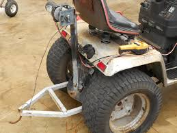 craftsman lawn tractor attachments. moving a boat with lawn mower can be done - the hull truth boating and fishing forum craftsman tractor attachments