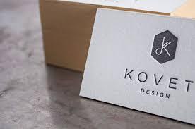 Letter Press Business Card Kovet Design Letterpress Business Cards Pike St Press