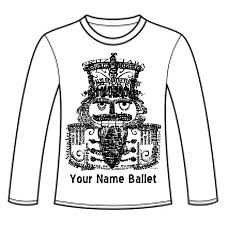 Nutcracker Ballet T Shirt Designs App 35 Nutcracker Ballet Long Sleeve T Shirt Wordy