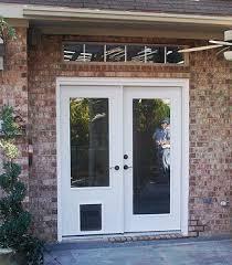 32 x 80 exterior door with pet door. french doors 4 pets 32 x 80 exterior door with pet