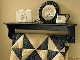 24 best Quilt racks images on Pinterest | Shelves, Dining rooms ... & Fairhaven Quilt Holder Adamdwight.com