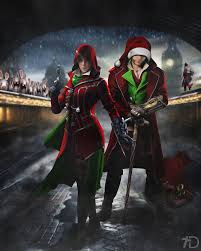 Assassin's Creed Christmas fanart by teaD by santap555 on DeviantArt
