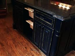 painting kitchen cabinets black country club l shock residence paint kitchen cabinets black distressed