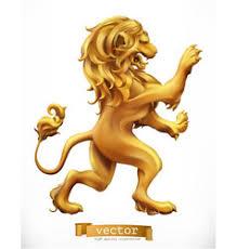 <b>Gold Golden Lion</b> Vector Images (over 230)