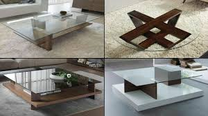 Table Design Wooden Centre Table Designs With Glass Top 2018