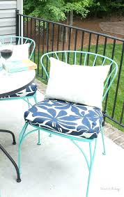 chair cushions make cushion covers amazing outdoor seat porch makeover progress girl says diy co on