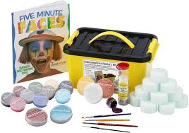 snazaroo face and paint professional kit 35 pieces co uk toys
