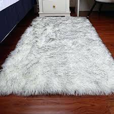 gray fluffy rug faux fur sheepskin area rug baby bedroom rugs fluffy rug home decorative gy gray fluffy rug
