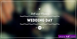 Wedding Title Videohive Wedding Titles Pack Free After Effects Templates