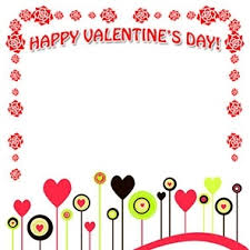 free valentine 039 s day borders with happy valentines day border clipart 13084