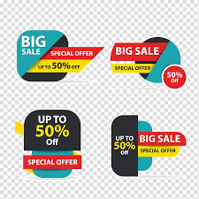 Sales Logo Banner Colorful Shopping Sale Flyer Poster