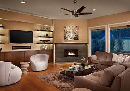 corner fireplace living room. brown color small living room with corner fireplace premium material unique fan high quality shocking interior a