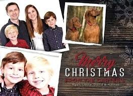 Photo Christmas Card Template Family Free Printable Holiday