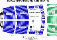 Berglund Performing Arts Theatre Seating Chart Tennessee Theatre Seating Chart Seating Chart