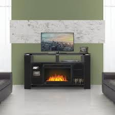 napoleon foley 60 inch electric fireplace media console with 27 inch cinema firebox