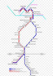 Rapid Transit Blue Line Pittsburgh Light Rail Rail Transport