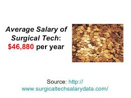 Surgical Tech Salary Surgical Tech Salary By State