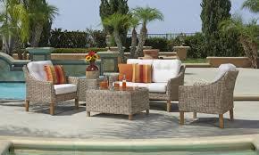 wicker outdoor furniture set