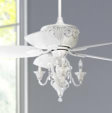 entrancing gray wall paint livingroom and beautiful white chandelier ceiling fan light kit unique decorative design