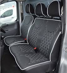 peugeot expert diamond quilted tailored van seat covers