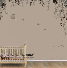 Small Picture Bird Cage Vine Wall Stickers Wall Decal Removable Kids Art Nursery
