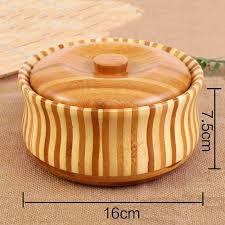 large round wooden salad bowl fruit salad food serving bowl kitchen wooden utensils wood dishes with covered complete dinnerware sets contemporary